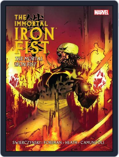 Immortal Iron Fist (2006-2009) August 15th, 2013 Digital Back Issue Cover