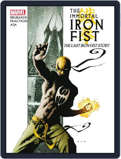 Immortal Iron Fist (2006-2009) March 29th, 2012 Digital Back Issue Cover