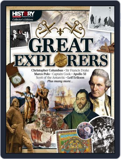 Great Explorers Magazine (Digital) March 21st, 2018 Issue Cover