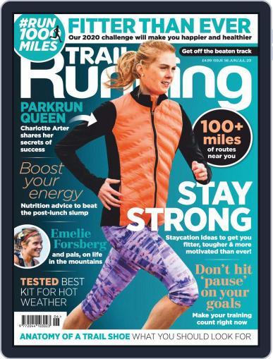 Trail Running June 1st, 2020 Digital Back Issue Cover