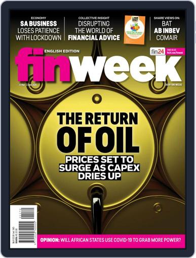 Finweek - English May 21st, 2020 Digital Back Issue Cover