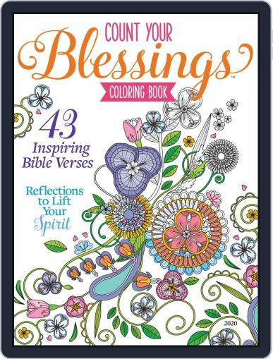 Count Your Blessings (SIM Crafts) May 11th, 2020 Digital Back Issue Cover