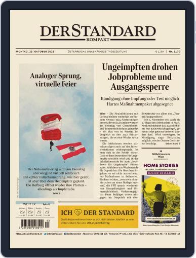 STANDARD Kompakt Magazine (Digital) October 25th, 2021 Issue Cover