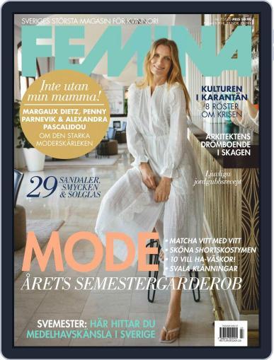Femina Sweden (Digital) July 1st, 2020 Issue Cover