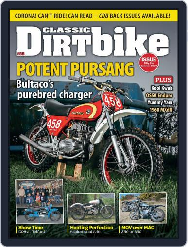 Classic Dirt Bike May 1st, 2020 Digital Back Issue Cover