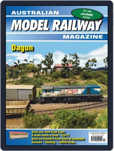 Australian Model Railway (Digital) June 1st, 2020 Issue Cover