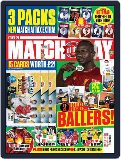Match Of The Day (Digital) May 26th, 2020 Issue Cover