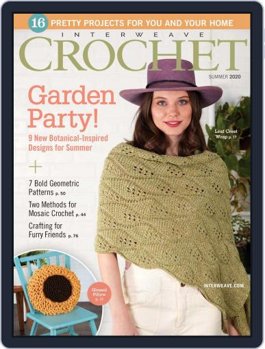 Interweave Crochet May 14th, 2020 Digital Back Issue Cover