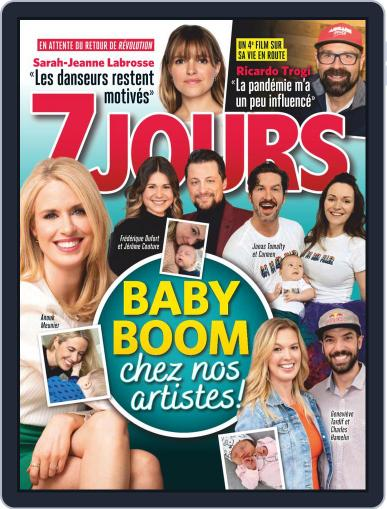 7 Jours (Digital) June 12th, 2020 Issue Cover