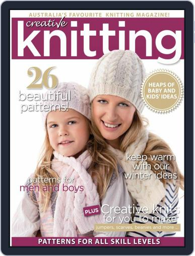 Creative Knitting June 1st, 2020 Digital Back Issue Cover