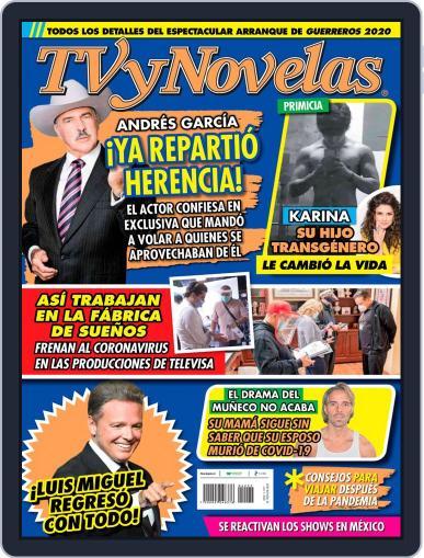 Tvynovelas (Digital) June 1st, 2020 Issue Cover