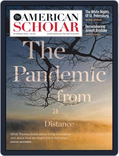The American Scholar June 1st, 2020 Digital Back Issue Cover