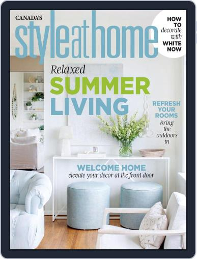 Style At Home Canada (Digital) June 1st, 2020 Issue Cover