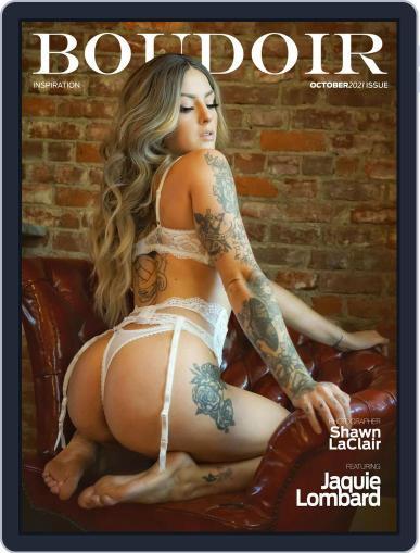 Boudoir Inspiration Magazine (Digital) October 15th, 2021 Issue Cover