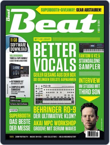 Beat German Magazine (Digital) October 1st, 2021 Issue Cover