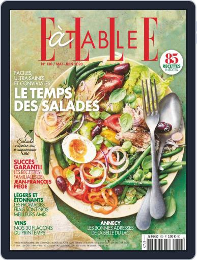 ELLE à Table May 1st, 2020 Digital Back Issue Cover