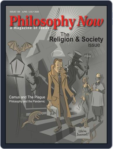 Philosophy Now June 1st, 2020 Digital Back Issue Cover