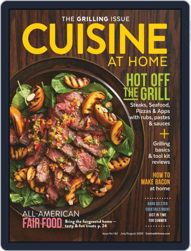 Cuisine at home (Digital) July 1st, 2020 Issue Cover