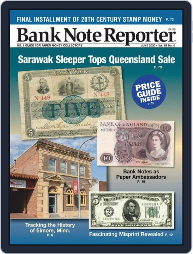 Banknote Reporter June 1st, 2020 Digital Back Issue Cover