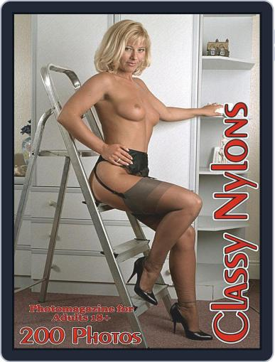 Classy Nylons Adult Photo (Digital) June 12th, 2020 Issue Cover