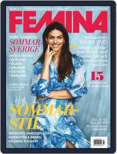 Femina Sweden (Digital) August 1st, 2020 Issue Cover