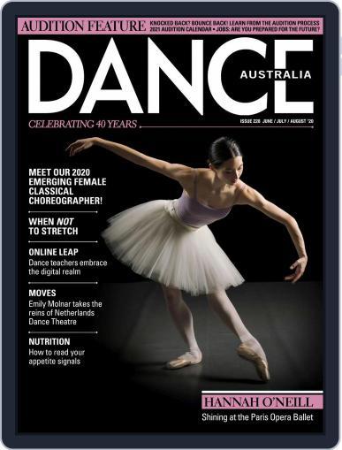 Dance Australia June 1st, 2020 Digital Back Issue Cover