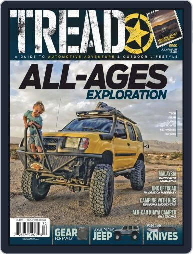 TREAD (Digital) July 1st, 2020 Issue Cover
