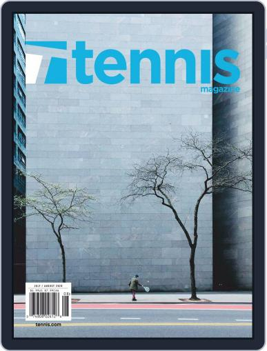Tennis (digital) July 1st, 2020 Issue Cover