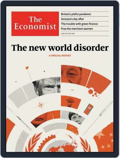 The Economist Continental Europe Edition June 20th, 2020 Digital Back Issue Cover