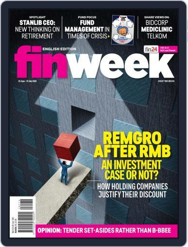 Finweek - English (Digital) June 25th, 2020 Issue Cover