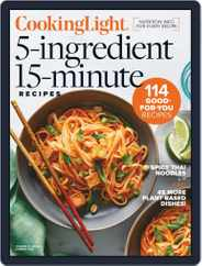 Cooking Light 5 Ingredients, 15 Minutes Magazine (Digital) Subscription May 28th, 2020 Issue
