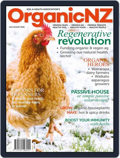 Organic NZ (Digital) July 1st, 2020 Issue Cover