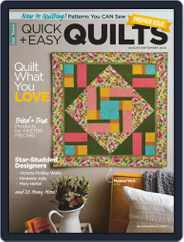 QUICK QUILTS (Digital) Subscription August 1st, 2020 Issue