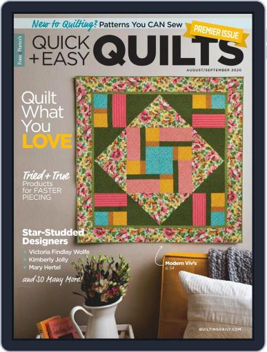 QUICK QUILTS (Digital) August 1st, 2020 Issue Cover