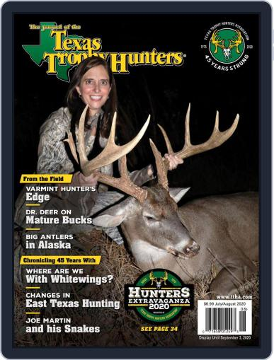 The Journal of the Texas Trophy Hunters July 1st, 2020 Digital Back Issue Cover