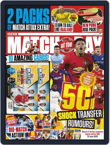 Match Of The Day (Digital) June 23rd, 2020 Issue Cover