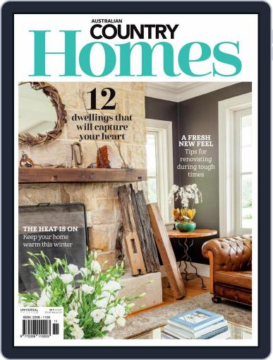 Australian Country Homes June 1st, 2020 Digital Back Issue Cover