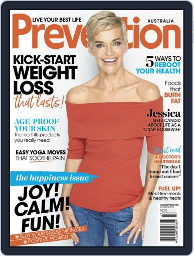 Prevention Magazine Australia August 1st, 2020 Digital Back Issue Cover