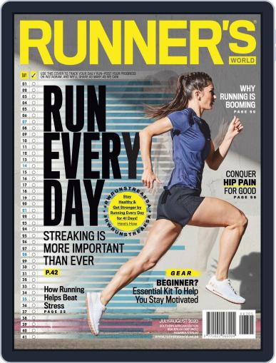 Runner's World South Africa (Digital) July 1st, 2020 Issue Cover