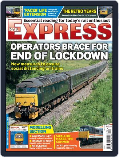 Rail Express (Digital) July 1st, 2020 Issue Cover