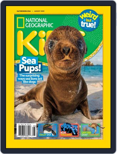National Geographic Kids (Digital) August 1st, 2020 Issue Cover