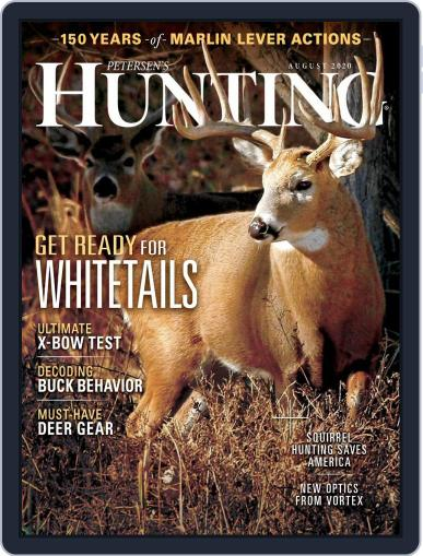 Petersen's Hunting (Digital) August 1st, 2020 Issue Cover