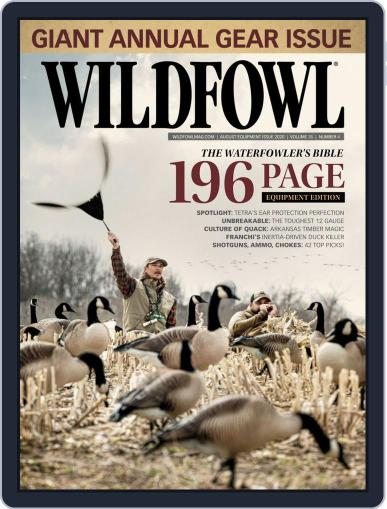 Wildfowl August 1st, 2020 Digital Back Issue Cover