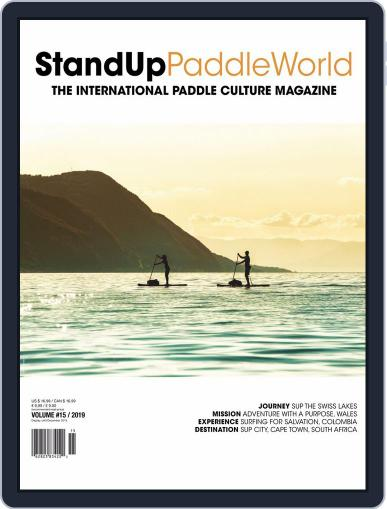Stand Up Paddle World July 1st, 2019 Digital Back Issue Cover