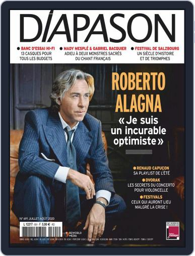 Diapason (Digital) July 1st, 2020 Issue Cover