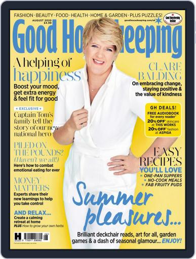 Good Housekeeping UK August 1st, 2020 Digital Back Issue Cover