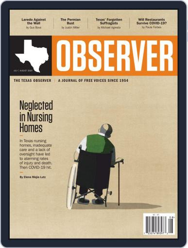 The Texas Observer (Digital) July 1st, 2020 Issue Cover