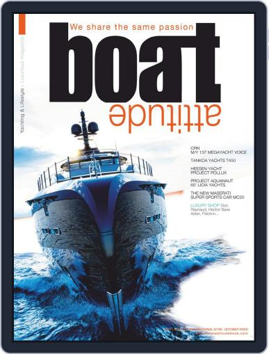 BOAT ATTITUDE Magazine (Digital) September 15th, 2020 Issue Cover