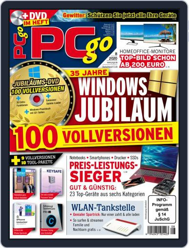 PCgo August 1st, 2020 Digital Back Issue Cover
