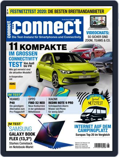 Connect August 1st, 2020 Digital Back Issue Cover